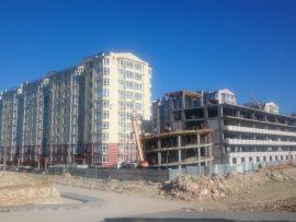 Фото парковки ЖК Омега 2А Севастополь